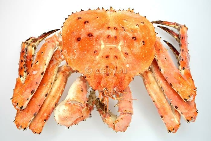 Cooked-frozen Blue King Crab